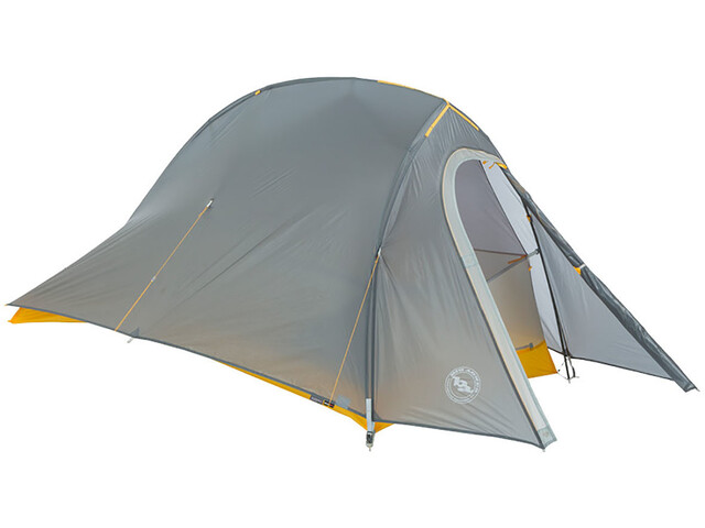 Big Agnes Fly Creek HV UL1 Bikepack Tent, gray/gold